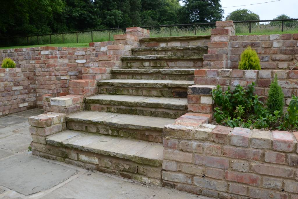 brickwork steps