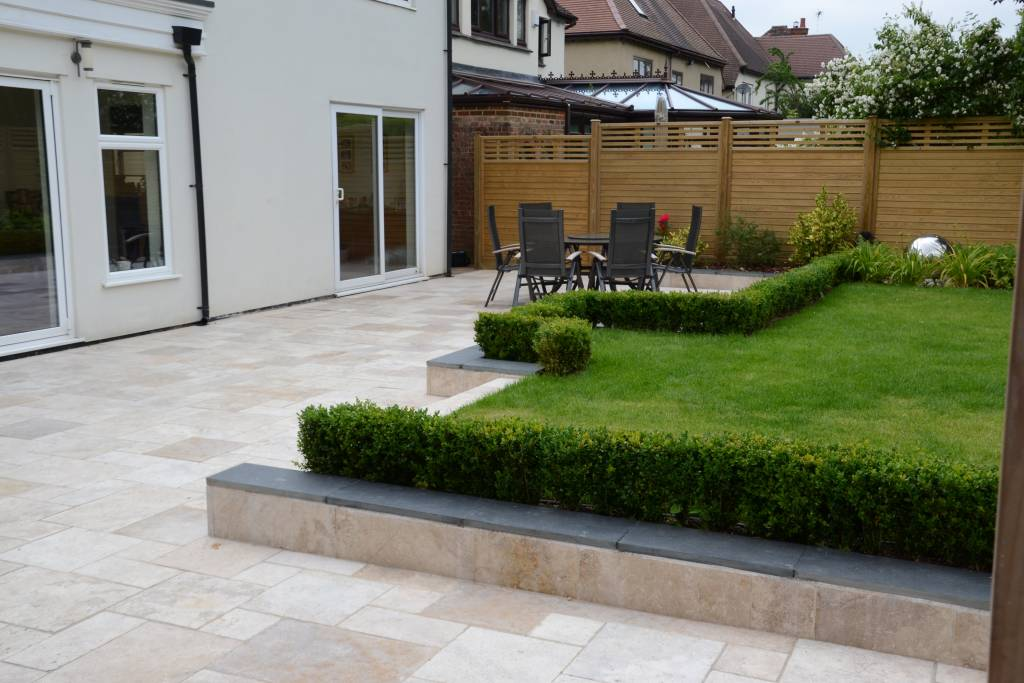 Patio contemporary hedging hedging