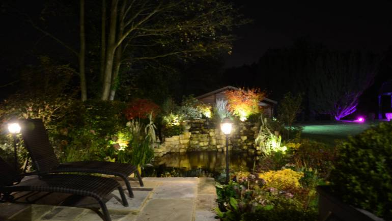 Pond and Patio Lighting